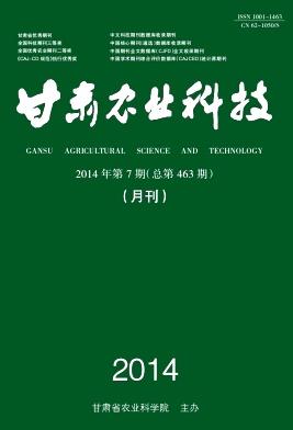 甘肃农业科技杂志